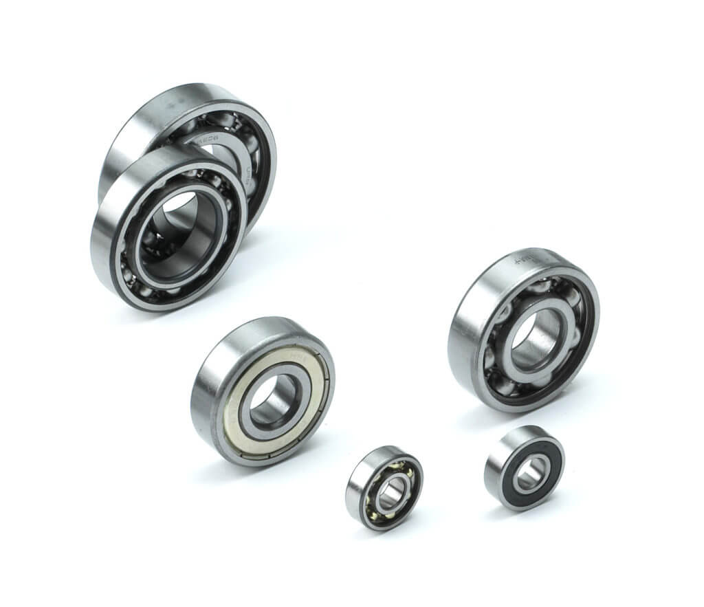 Rigid radial ball bearings